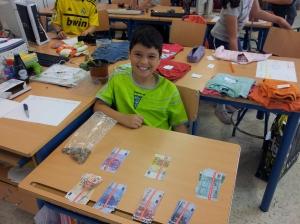 Carlos, el banquero de la clase.
